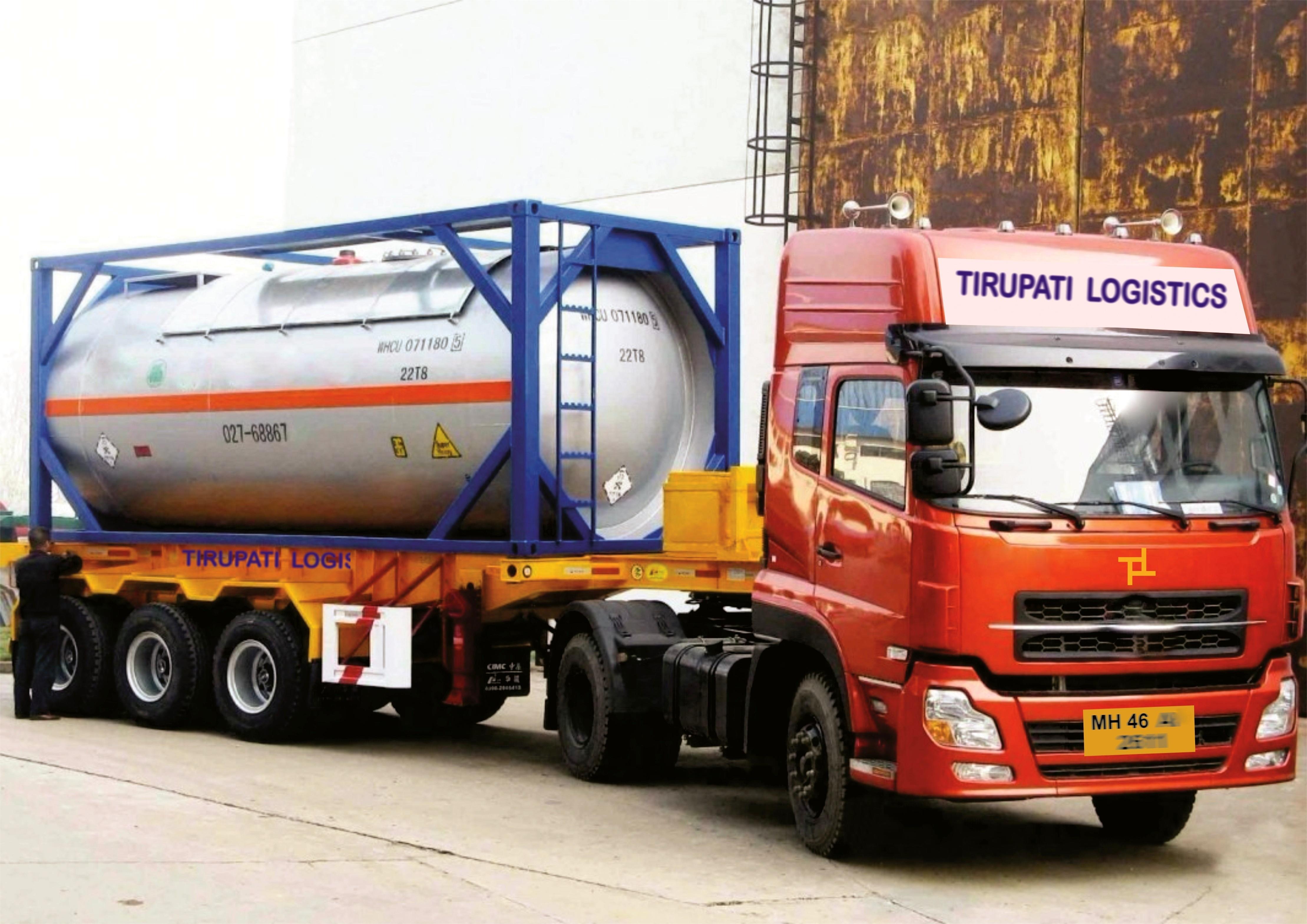 Tirupati Logistics ISO Tank